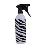 16oz Spray Bottle - Zebra Design Magnum - Black Trigger