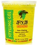 African Essence Non Flaking Styling Gel Yellow Ultra 15oz