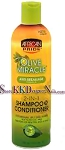 African Pride Olive Miracle Shampoo & Conditioner 12oz