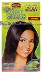 African Pride Olive Miracle Touch Up Super Relaxer