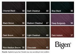 Bigen Hair Color 96 Deep Burgundy