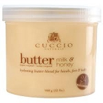 Cuccio Milk & Honey Hydrating Butter Blend for Hands, Feet & Body 26oz