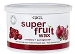 GIGI Super Fruit Wax Cranberry & Pomegranate 14 oz.