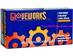 Gloveworks Powder Free Latex Glove 100ct Large