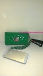 Danielle My Case Clutch Wallet  Quilted Pattern green
