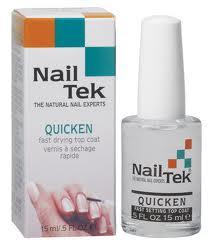 Nail Tek Quicken Quick Drying Top Coat .5 oz.
