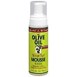 Organic Root Stimulator (ORS) Olive Oil Wrap/ Set Mousse 7oz