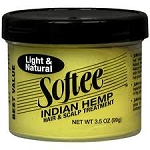 Softee Indian Hemp Hair Scalp Treatment 3.5oz.