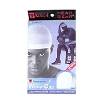 King J Stocking Cap White