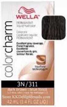 wella color charm 3n311 dark brown