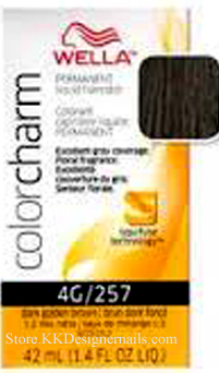 Wella Color Charm 4G257 Dark Golden Brown
