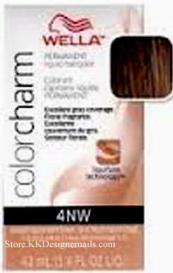 Wella Color Charm 4nw Medium Natural Warm Brown