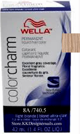 Wella Color Charm 8a 740 5 Light Ash Blonde