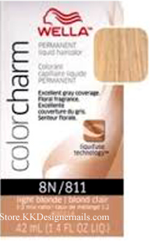 wella color charm 8n811 light blonde - Wella Color Charm