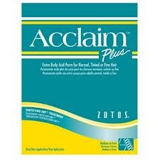 Acclaim Plus Kit Perm Extra Body