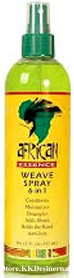 African Essence 6 in 1 Weave Spray 4oz