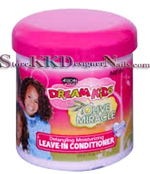 African Pride Dream Kids Olive Miracle Leave In Detangling Conditioner 15oz