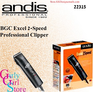 Andis BGC Excel 2-Speed Professional Clipper 22315