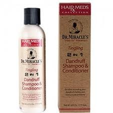 Dr. Miracle's Tingling 2 IN 1 Dandruff Shampoo & Conditioner 6oz