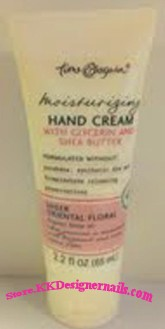 Time and Again Moisturizing Hand Cream Sheer Oriental Floral 2.2oz