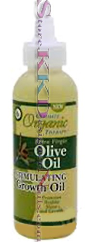 Ultimate Organics Therapy Extra Virgin Olive Oil Stimulating Growth Oil 4oz