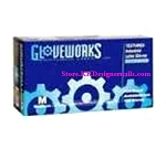 Gloveworks Powdered Latex Glove 100ct medium