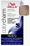 Wella Color Charm 7A/672 Medium Smokey Ash Blonde